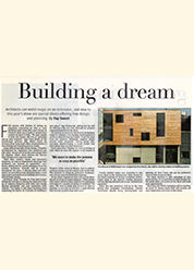 Press_Proud House building a dream