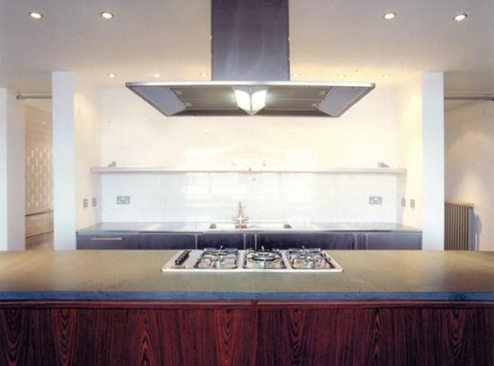 Shoreditch loft inerior design kitchen