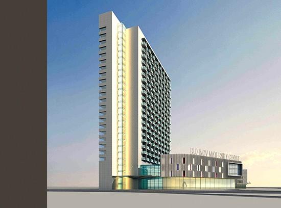 Apartment Tower Bratislava Slovakia2
