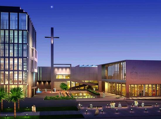 Charity Foundation HQ Port Harcourt Nigeria night
