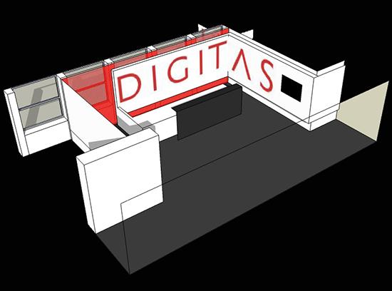 Digitas 3D reception