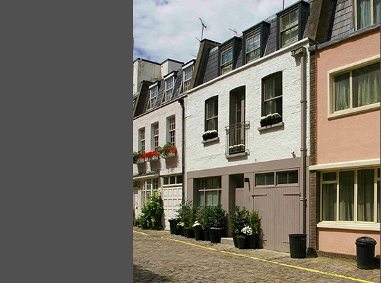 Leinster Mews House facade street