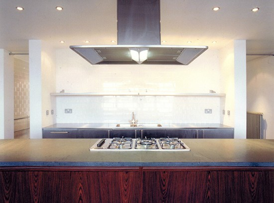 Shoreditch loft inerior design kitchen