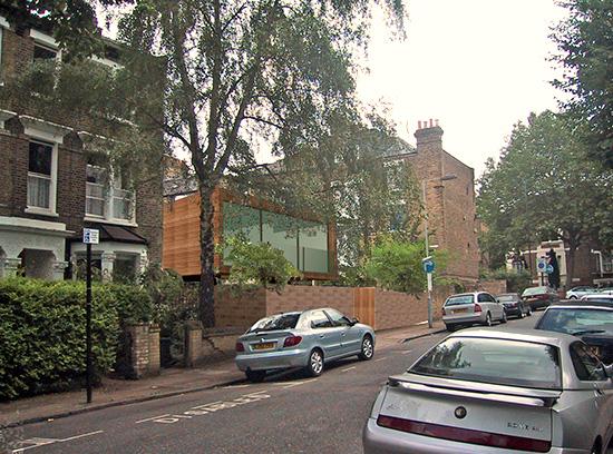 Zero Carbon House, Islington, London